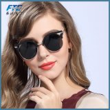 Солнечные очки глаза кота женщин солнечных очков высокого качества