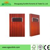 米国式の現代PVC食器棚のドア