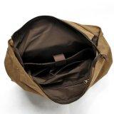 卸し売りイギリスデザインキャンバス日パックの革Shoolのバックパック学生の肩の学生かばん(RS-2200-P)