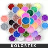 Pet Glitter Powders in Nail Art