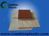 Panneau/feuille en bois gentils de mousse de PVC de fini pour des meubles de Chambre