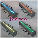 12PCS*6W imprägniern Wand-Unterlegscheibe-Licht LED-RGB 3in1