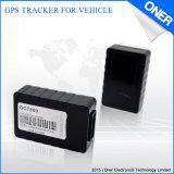 Traqueur tenu dans la main de GPS pour le management de moto