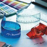 다채로운 실제적인 플라스틱 가늠자 유연한 통치자
