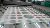 4mm-10mm Coated/Tinted/Colored/Reflective Tempered Decorate Knell (JINBO.)