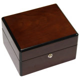 Placage en bois brillant Gigh Watch Box