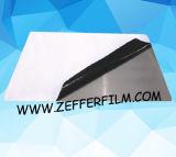 パネルおよびステンレス鋼のための黒白い保護フィルム