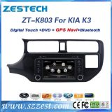 Giocatore di multimedia dell'automobile per KIA Rio K3 con percorso di DVD GPS