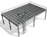 Piattaforma della struttura d'acciaio, piattaforma del blocco per grafici d'acciaio (SS-15260)