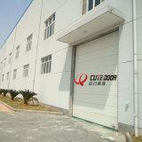 Высокоскоростной Китай сделал селитебную секционную электрическую дверь гаража с пеной PU внутрь
