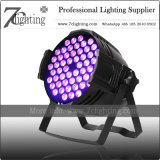 162watt RGB Farben-kann stufenweiser Änderung 54X3w Tri LED NENNWERT