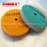 4 тип песчинки полируя пусковой площадки 2000 губки дюйма - синь 2