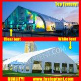 Courbe de Transparent chapiteau tente pour Trade Show 800 personnes places Guest