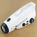 Lampe de poche Battery-Free la liquidation de la radio FM (CW-R23)