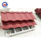 Mattonelle di tetto rivestite della pietra romana del metallo
