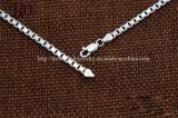 Catena Chain d'argento dell'acciaio inossidabile della Catena 925 degli uomini di modo di stile dell'Europa