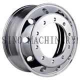 22.5X9.0はアルミニウムトラックのトレーラーの車輪の縁を造った