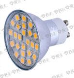 alumbre ligero de 24SMD LED con la cubierta 3.5W (GU10/MR-16/JDRE14/E27)