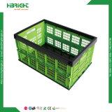 Caixa de armazenamento de plástico sacola de armazenagem em contêineres de plástico dobrável