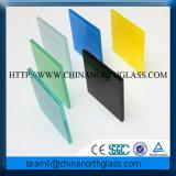 6-80mm pour la construction en verre feuilleté de couleur, 6-80mm verre feuilleté