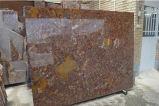 Mattonelle di marmo Conglomerate rosse delle lastre