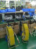 Gran Video de alcantarillado del molinete el sistema de cámara de inspección de tuberías tuberías de grabación DVR cámara con Pan y Tilt Jefe V8-3288PT-1