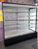 Отдельно стоящие супермаркет напиток открыть охладитель дисплея