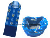 工場農産物のカスタムロゴプリントポリエステルバンダナマジックは管状のヘッドスカーフを遊ばす