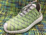 新しい編まれるの歩きやすい靴のためのデザインによって編まれる靴