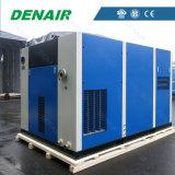 기름 없는 최고 공급자 110kw 150HP 전기 나사 공기 압축기