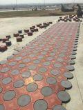 Le couplage en plastique de vente chaude a préfabriqué le moulage concret de machine à paver de DIY pour le bloc de brique