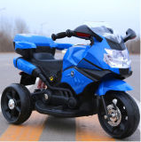 Moto électrique de gosse de jouet de batterie en plastique de trois roues