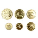 Moneta su ordinazione del segno del ricordo dell'insieme completo