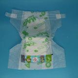 Le papier pour impression couleur à bon marché jetables couches pour bébés avec film PE pour le Kenya