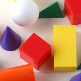 Sólidos geométricos básicos brinquedo cognitivo de Educação