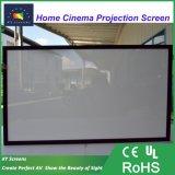 """Xyscreen 80""""~200"""" HK80B-Max2 акустический прозрачных 4K неподвижной рамкой проекционного экрана в любом соотношение"""
