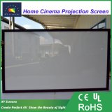 "Xyscreen 80 "" ~200 "" HK80b 소리 Max2 어떤 비율에 있는 청각적인 투명한 4K 고정 프레임 영사막"