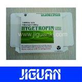 Custom de esteroides farmacéutica de alta calidad resistente al agua 10ml frasco del holograma etiqueta