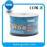 Jet d'encre blanc DVD-R imprimable 16X 4.7GB de DVD