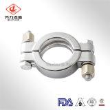衛生ステンレス鋼の重圧ボルトで固定されたクランプ