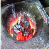 Средняя частота алюминиевых плавильный узел электрического индукционные печи