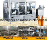 Máquina de rellenar carbonatada de la bebida de la botella de cristal