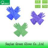 Ясная дешевая перчатка PVC моя