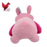 Venda por grosso de coelhos de pelúcia Rosa recheadas barato Toy