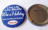 Kundenspezifisches Firmenzeichen-Metalltasten-Abzeichen für fördernde Geschenke