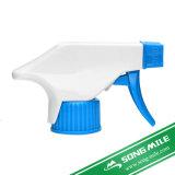 750mlびんのための28/410の28/415の化学抵抗力があるプラスチックトリガーのスプレーヤー