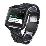 Fitbitの炎のスマートな腕時計のStainleseのスチールバンドのための時計バンド