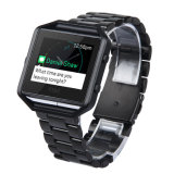Ver la banda para Fitbit Blaze Reloj inteligente Stainlese steel band