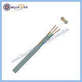 Cable flexible de 2 núcleos de flexible de 2 cables conductores
