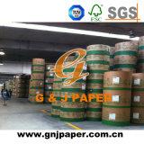 papier enduit blanc de largeur de 506mm 528mm dans la bobine pour la vente en gros